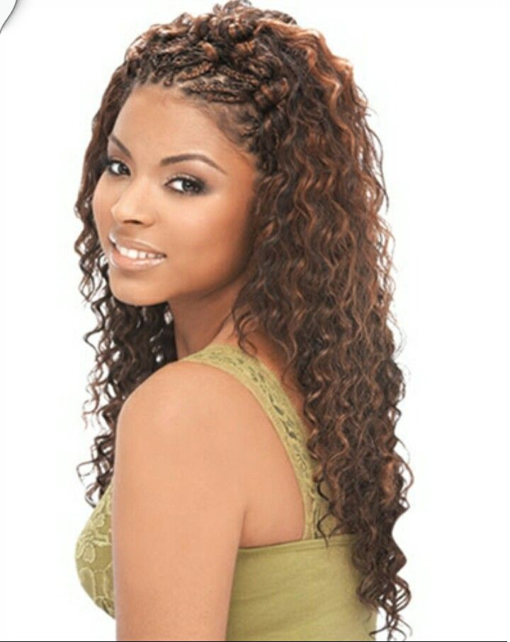 Weave Hairstyles Braids Front Hair