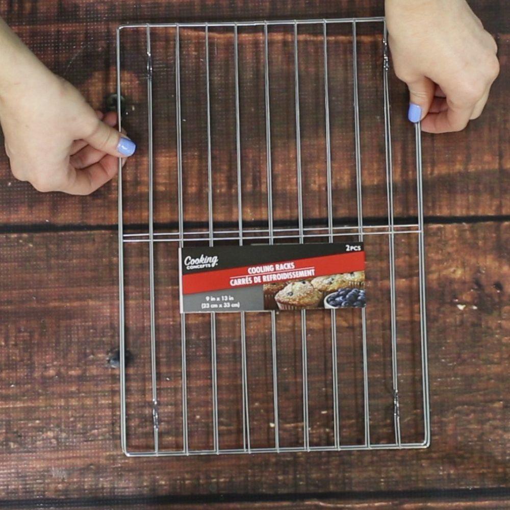 11 brilliant ways to organize with cooling racks - Ideen Fr Kleine Hinterhfe Mit Hunden