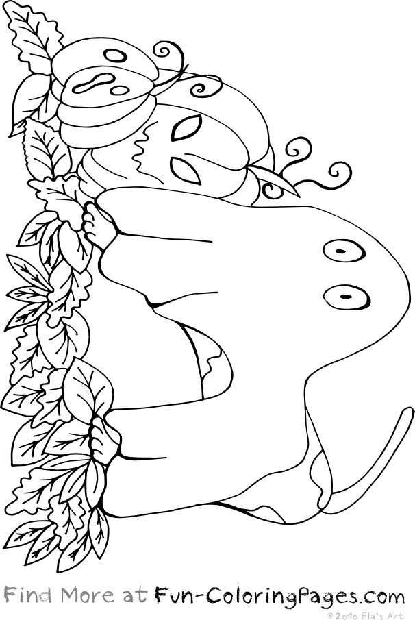 Halloween Coloring Pages | Halloween Fun Coloring Pages - Dog As ...