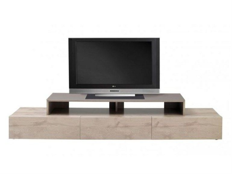Low wooden TV cabinet Adulis Collection by GAUTIER FRANCE
