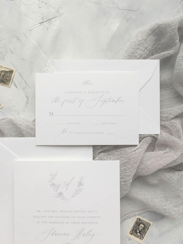 RSVP Card Wording Wedding wording, Wedding stationery