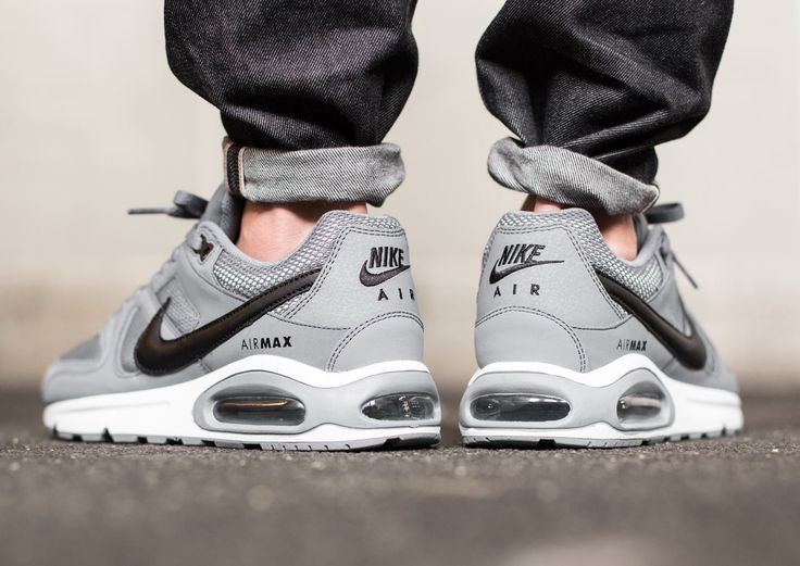 Nueve También Similar  Nike Air Max Command: Cool Grey | Nike air max command, Nike free shoes,  Sneakers men fashion