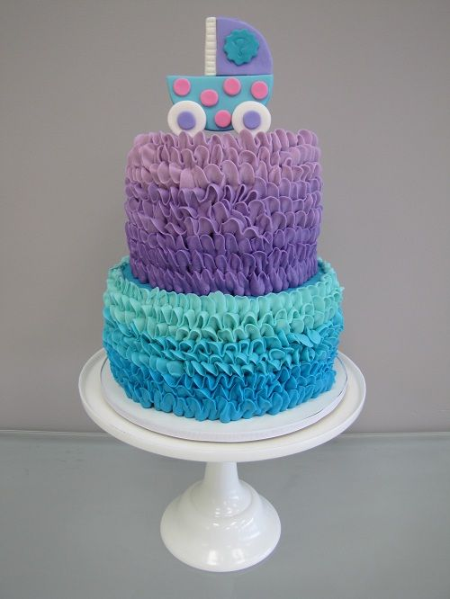 Teal And Purple Baby Shower Decor   Google Search