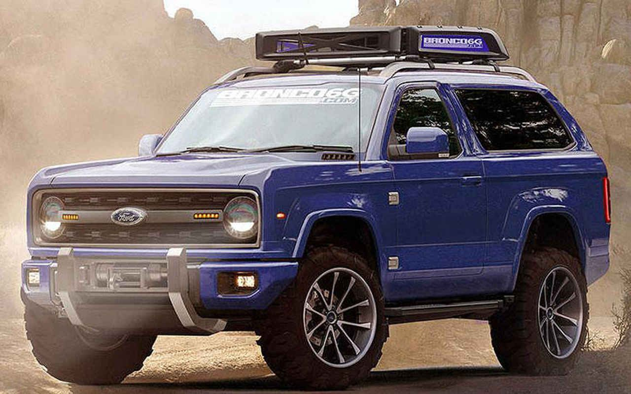 2020 Ford Bronco Concept Pictures, Specs, Price and Release Date ...