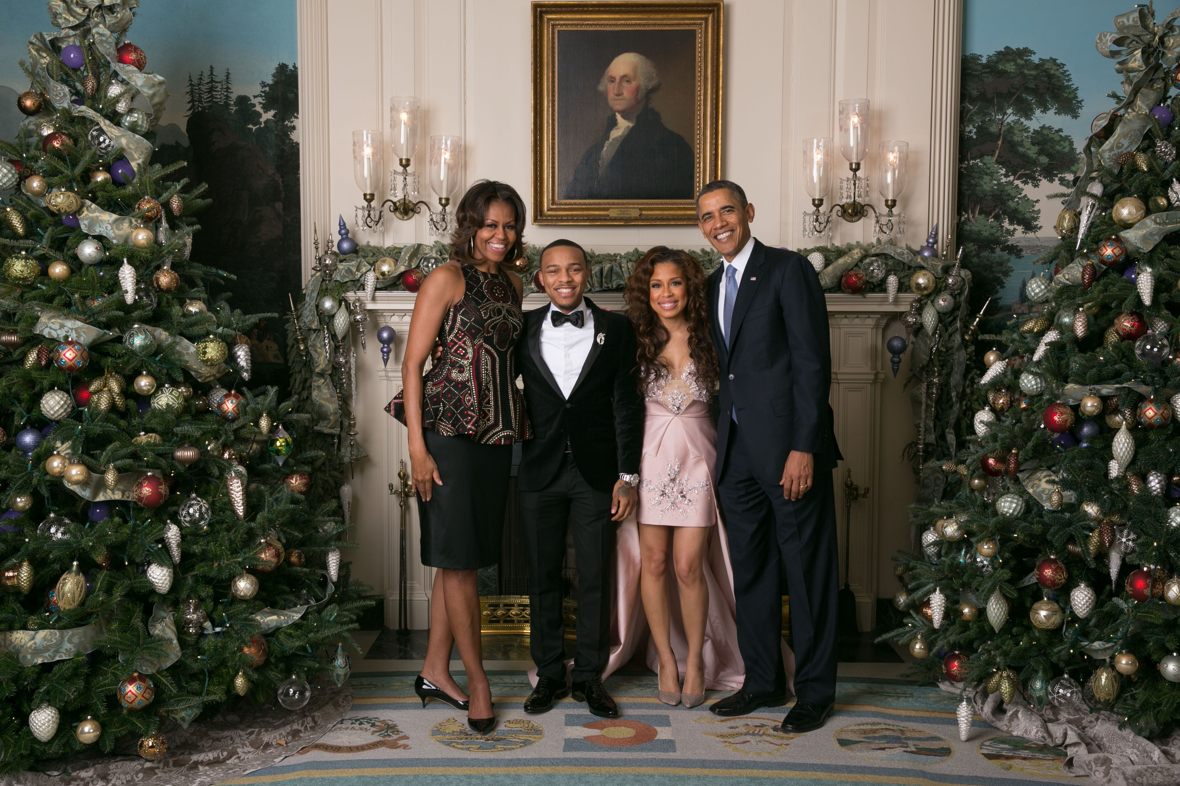 Keshia Chante Invited To The White House Christmas Party With