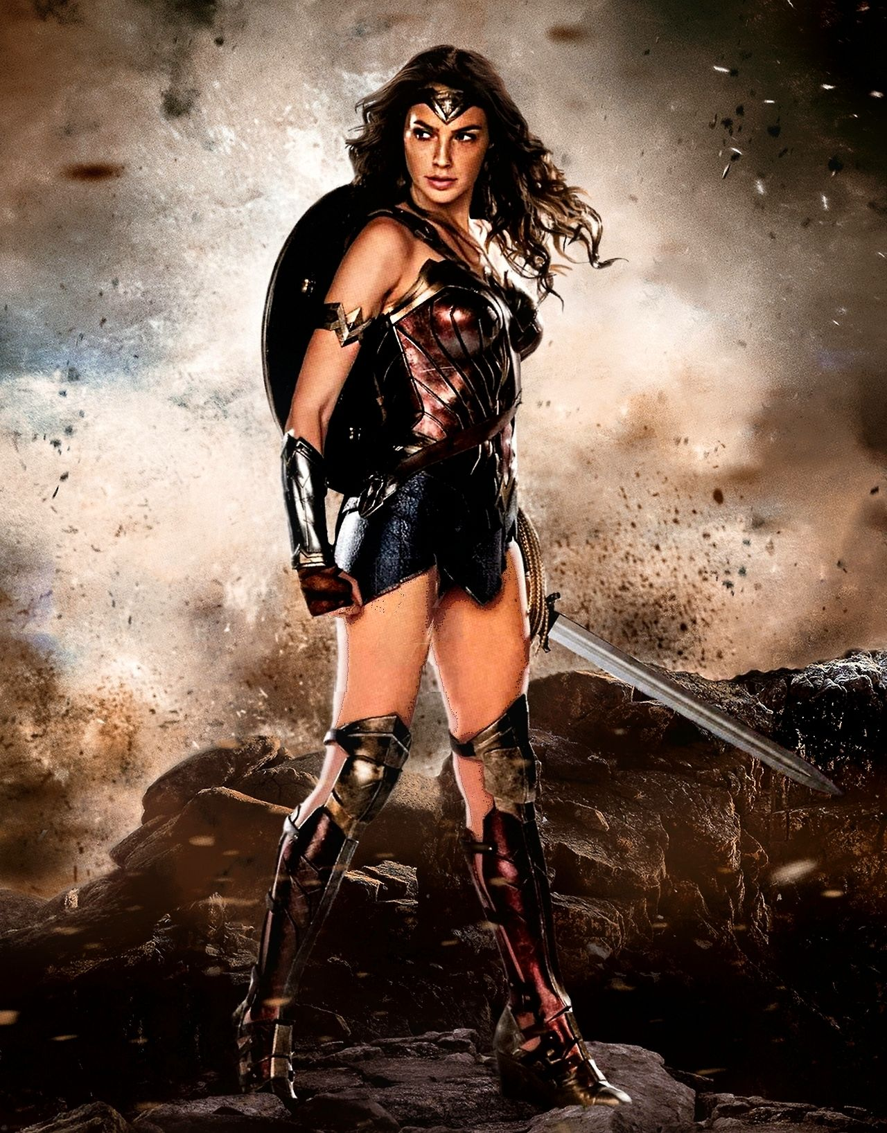 Justice League Wonder Woman Poster  Wonder Woman -6740