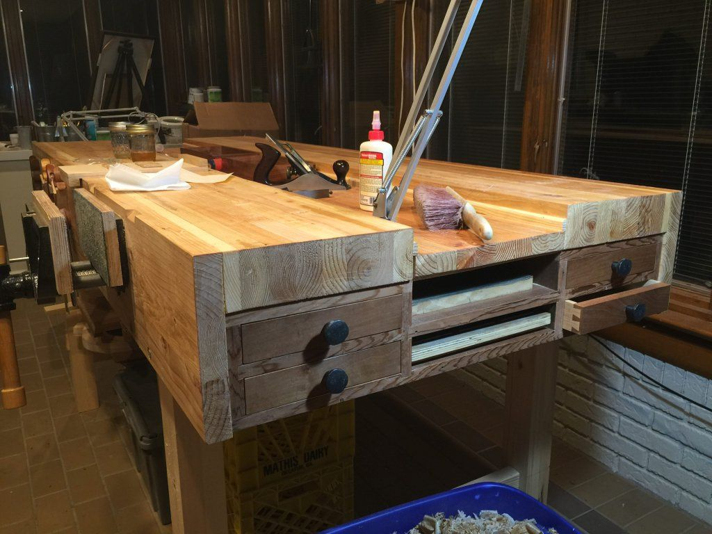 Workbench Gallery - Woodworking Masterclasses Woodworking workbench, Woodworking, Woodworking
