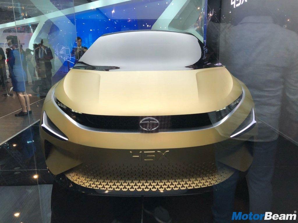 Tata 45x Concept Showcased At The 2018 Auto Expo Concept