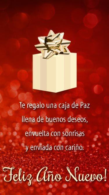 100 Postales De Navidad Ideas Originales Navideñas Para Hacer Tú Mismo Pequeocio Deseos De Feliz Año Nuevo Feliz Año Nuevo Saludos De Año Nuevo