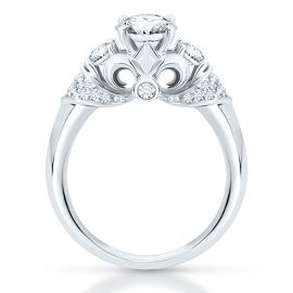 The Artiste Regal Engagement Ring By Scott Kay In 14k Gold