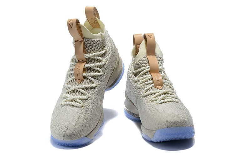6980d768f86 New Nike LeBron 15 Ghost String Sail-Vachetta Tan Nike LeBron 15 On Sale