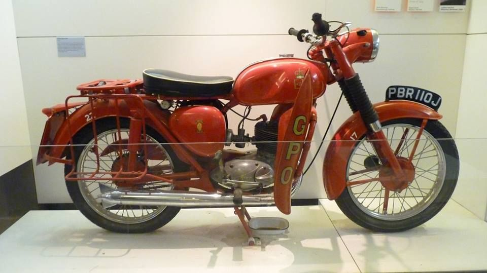 GPO Telegram Bantam - Who remembers the red motorbike    GPO usually