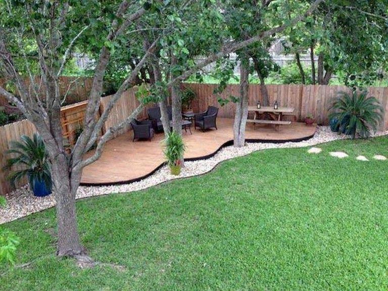 43 Top Large Backyard Ideas On A Budget Budgetbackyard Large Backyard Landscaping Backyard Landscaping Designs Backyard Seating Area