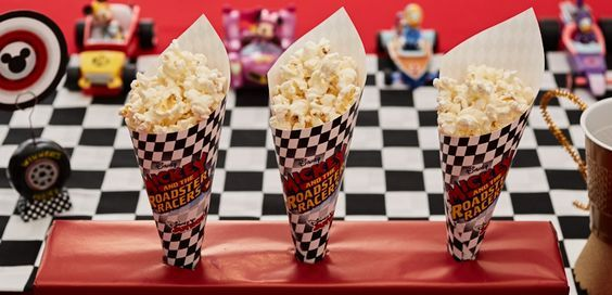 Mickey And The Roadster Racers Printable Popcorn Cones