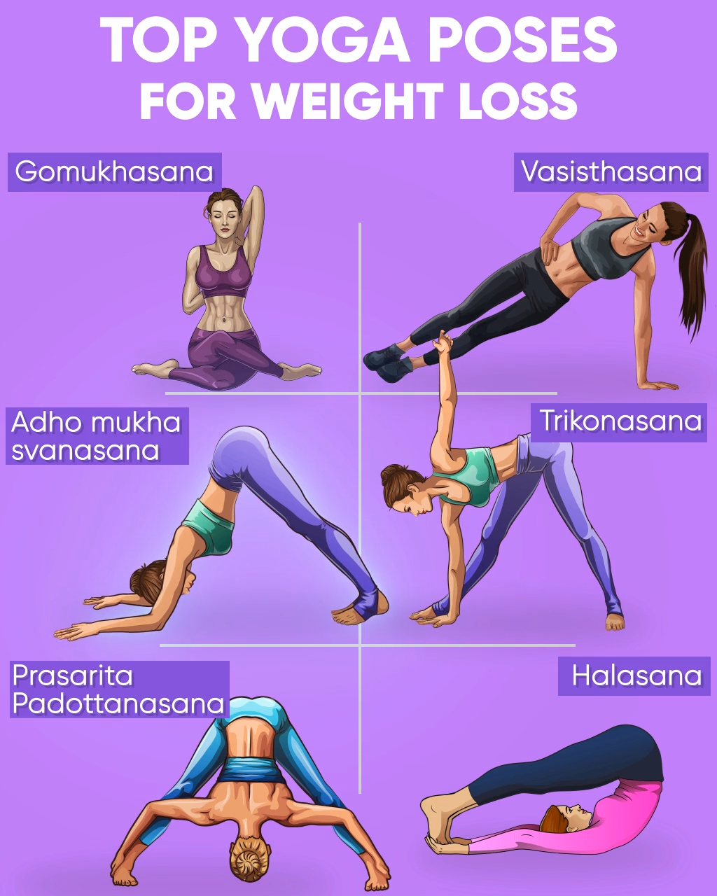 Top Yoga Poses To Lose Extra Weight Video Yoga Poses Top Yoga Poses Yoga