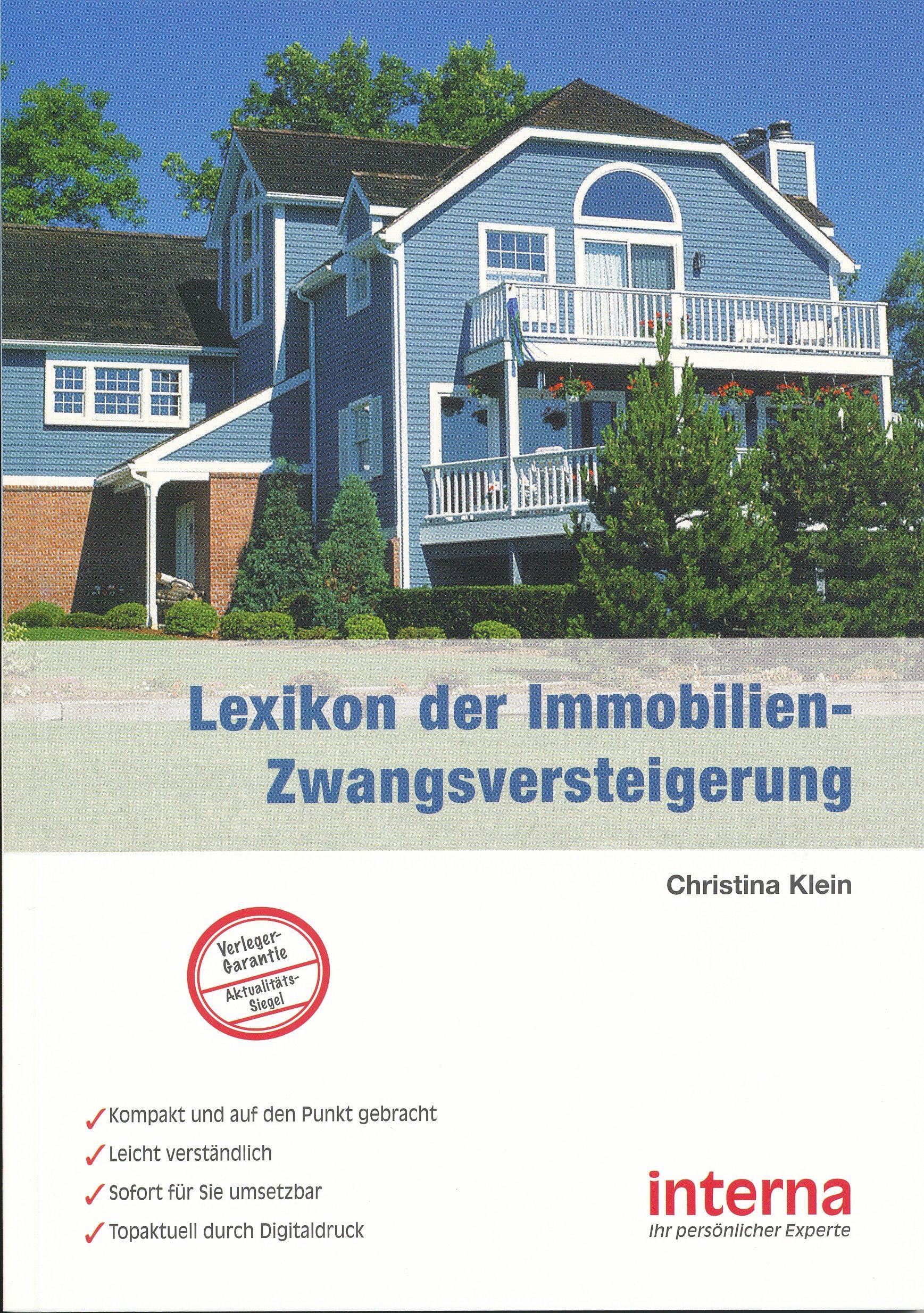 Lexikon der ImmobilienZwangsversteigerung Immobilien
