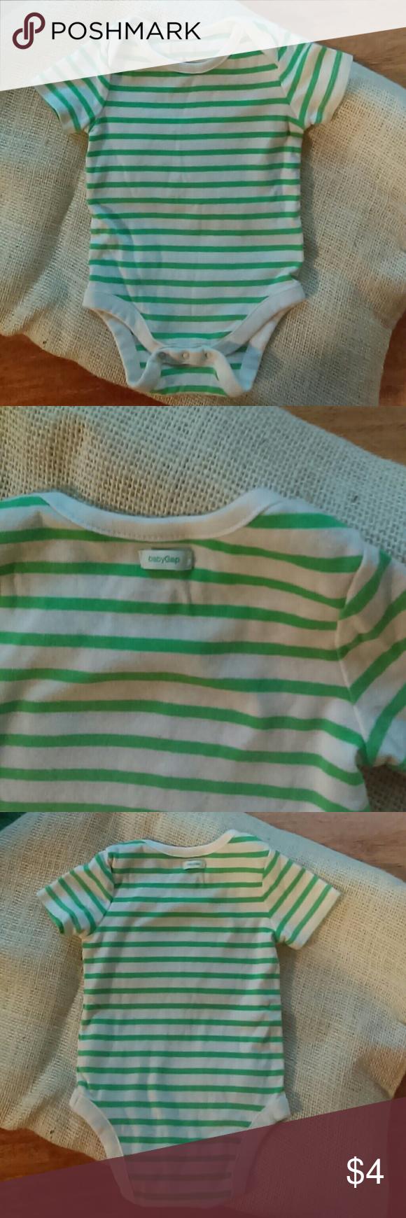 Baby Onesie Cute Baby Gap First Favorites. GUC. 100% Cotton. Baby Gap  One Pieces Bodysuits