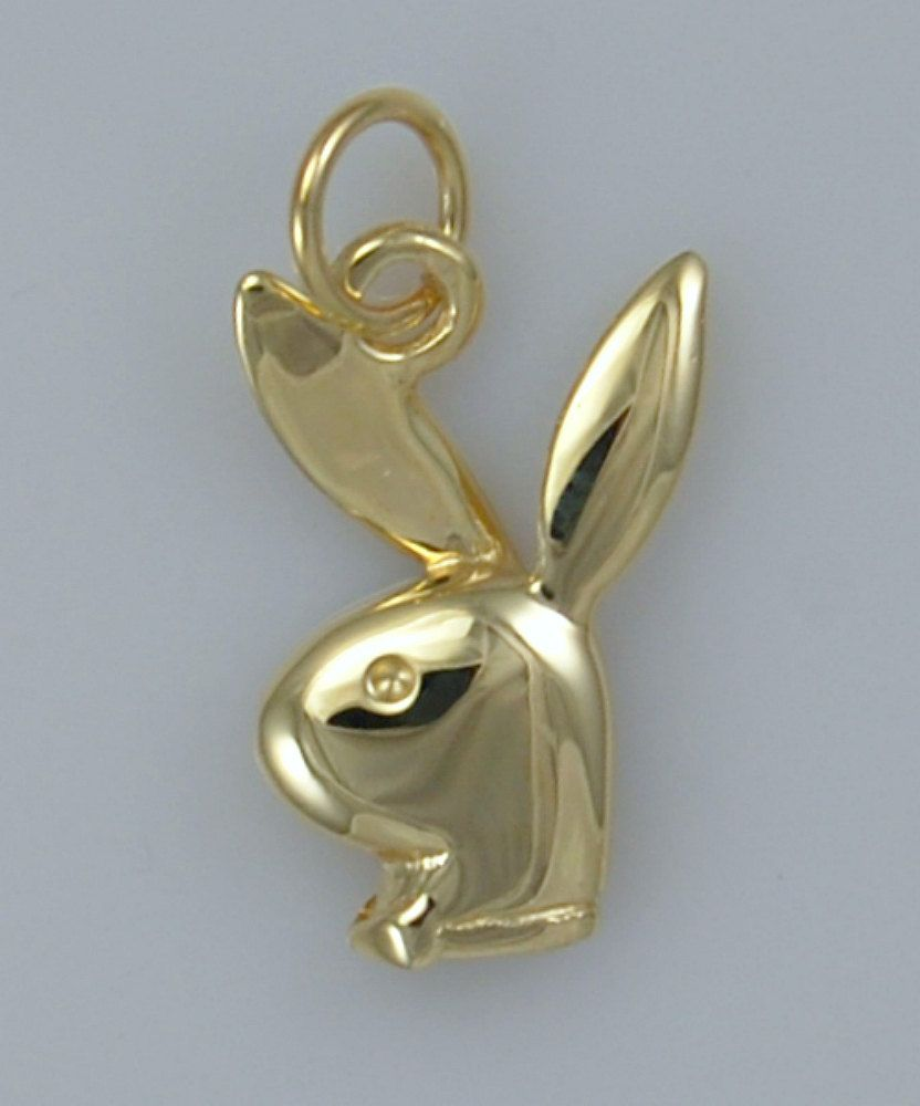 9ct gold playboy bunny charm pendant by platinumbullion on etsy 9ct gold playboy bunny charm pendant by platinumbullion on etsy mozeypictures Gallery