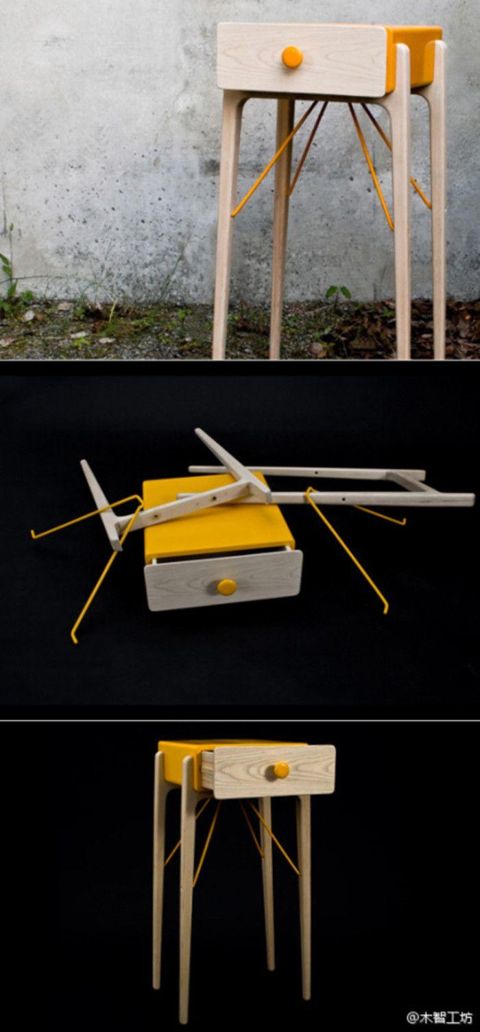 瑞典设计二人组Glimpt设计的可组装橱柜。