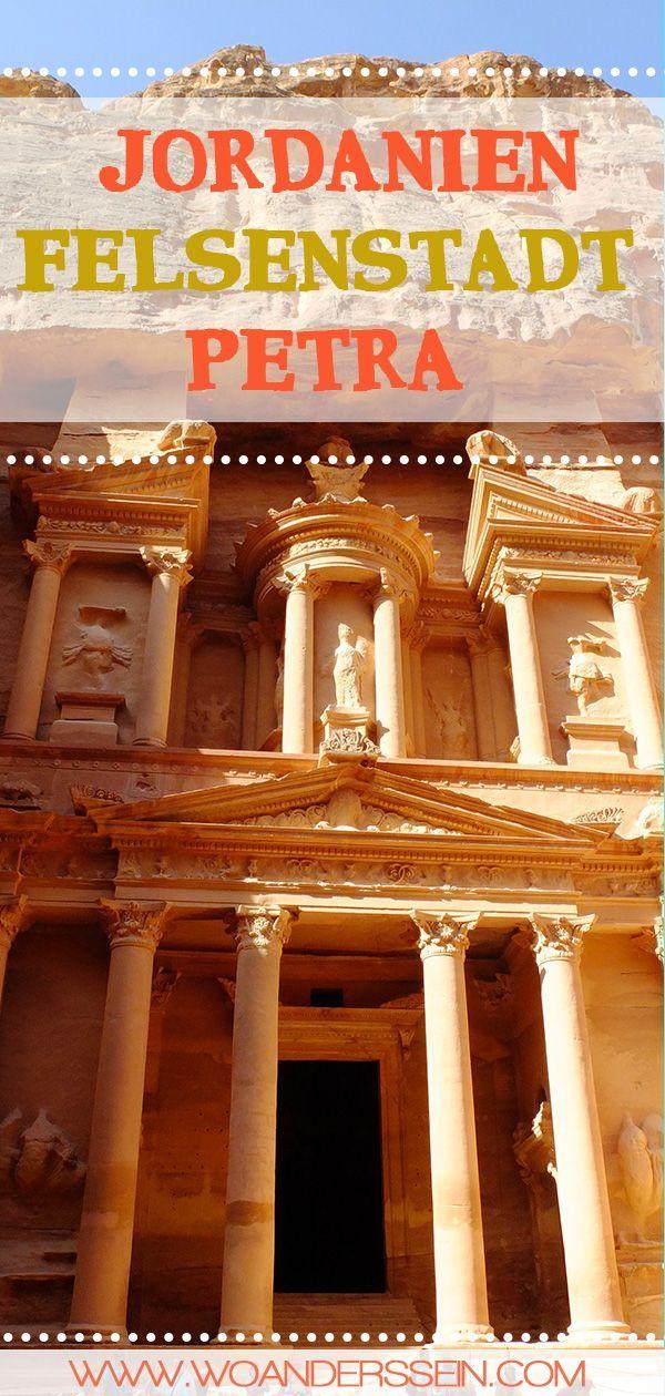 Felsenstadt Petra - Geschichte in Fels gemeisselt