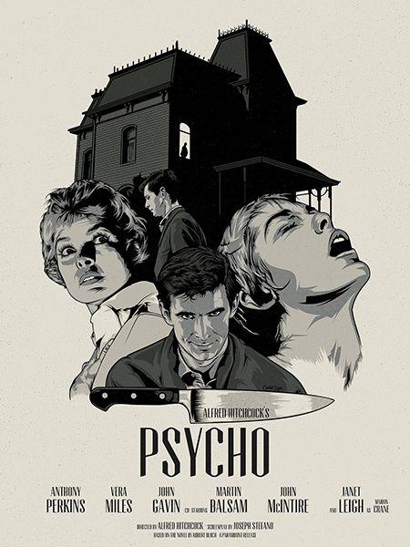 Hitchcock Collection. Posters de Cranio Dsgn