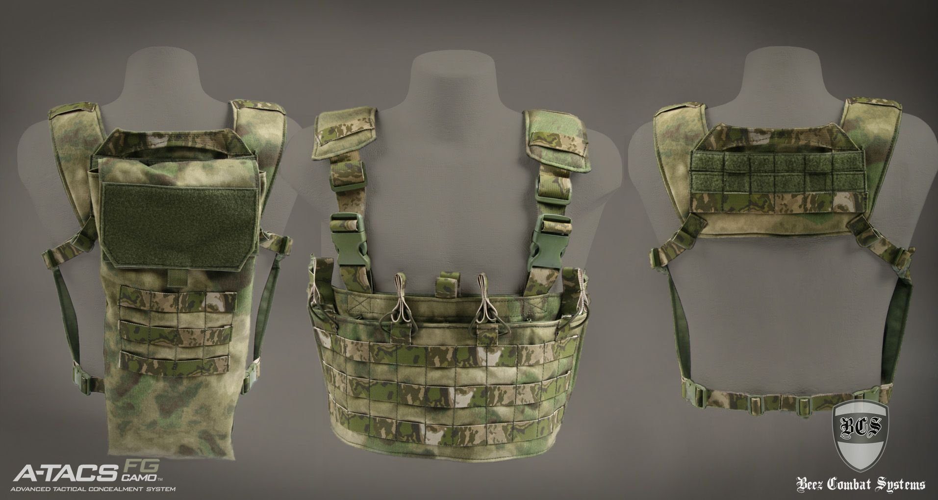 a96270516de Chest Rig Padded Harness A-TACS