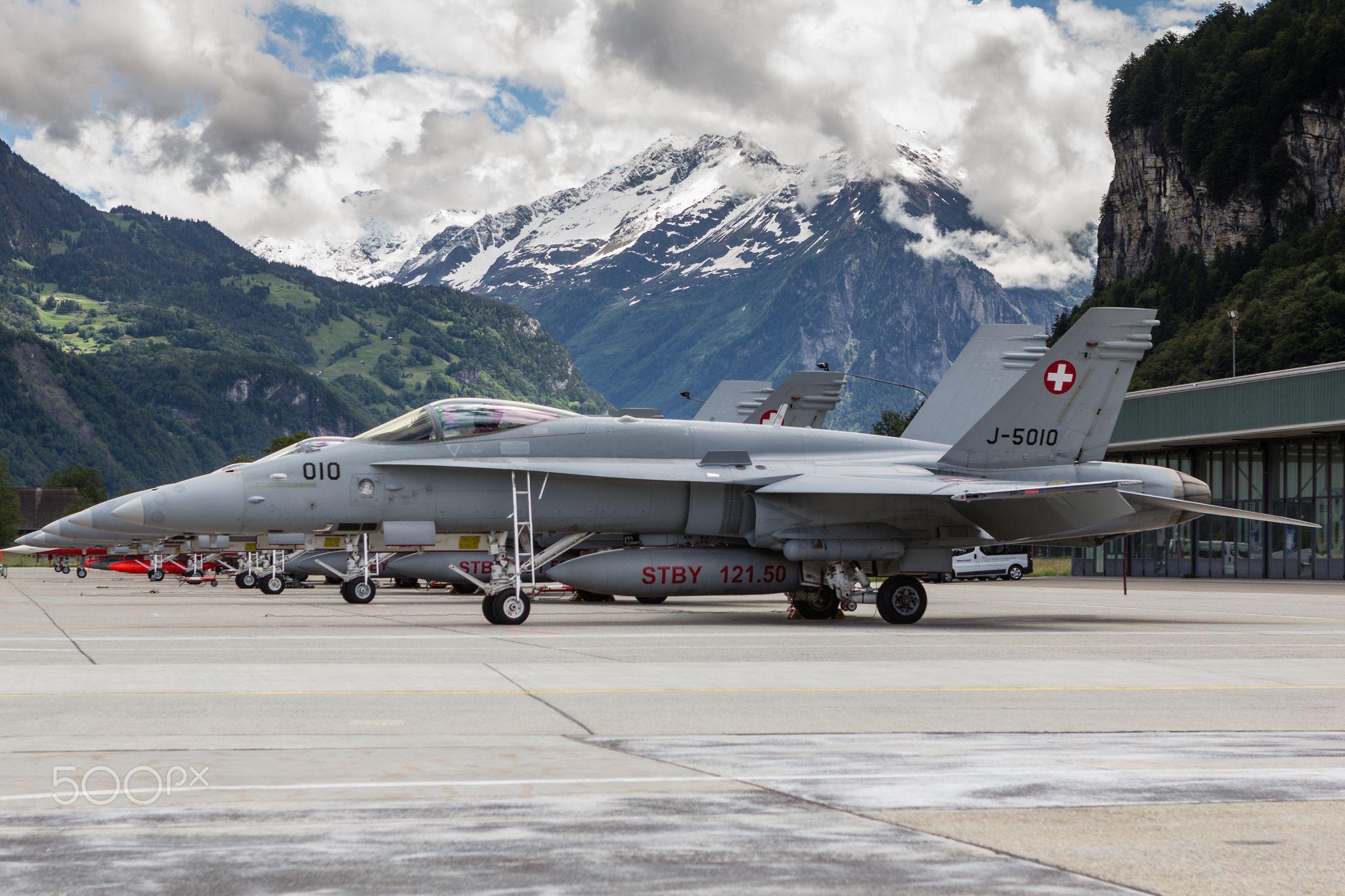 Fighter Town, Switzerland - Boeing (McDonell Douglas) F/A-18C Hornet J-5010 (MSN 1345/SFC010)