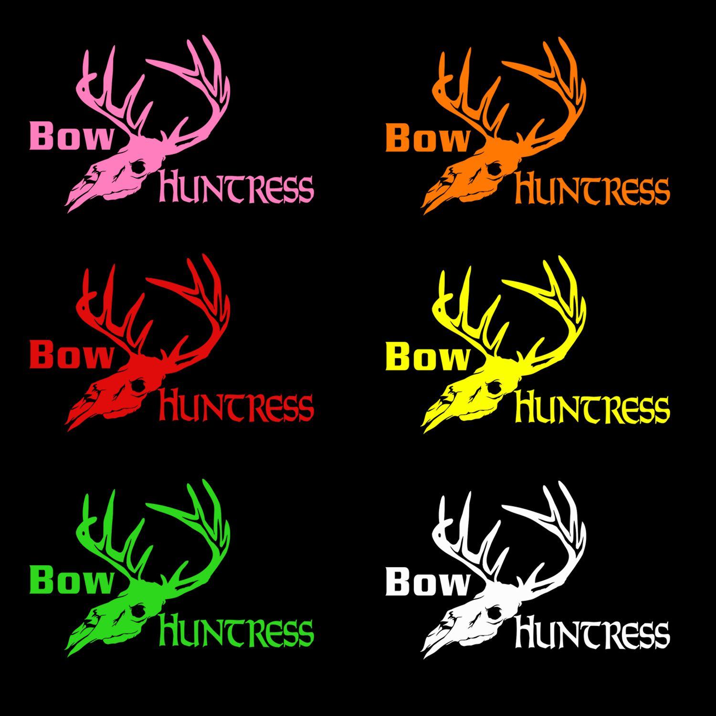 afd3c74d5f25c Bow Huntress deer skull color options | Bow Huntress | Bows, Shirts ...
