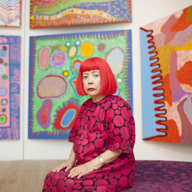 Yayoi Kusama might now be 87, but the Japanese artist who's covered everything from steel pumpkins to George Clooney in polka dots is showing no signs of slowing down. She opened two new solo shows this month...