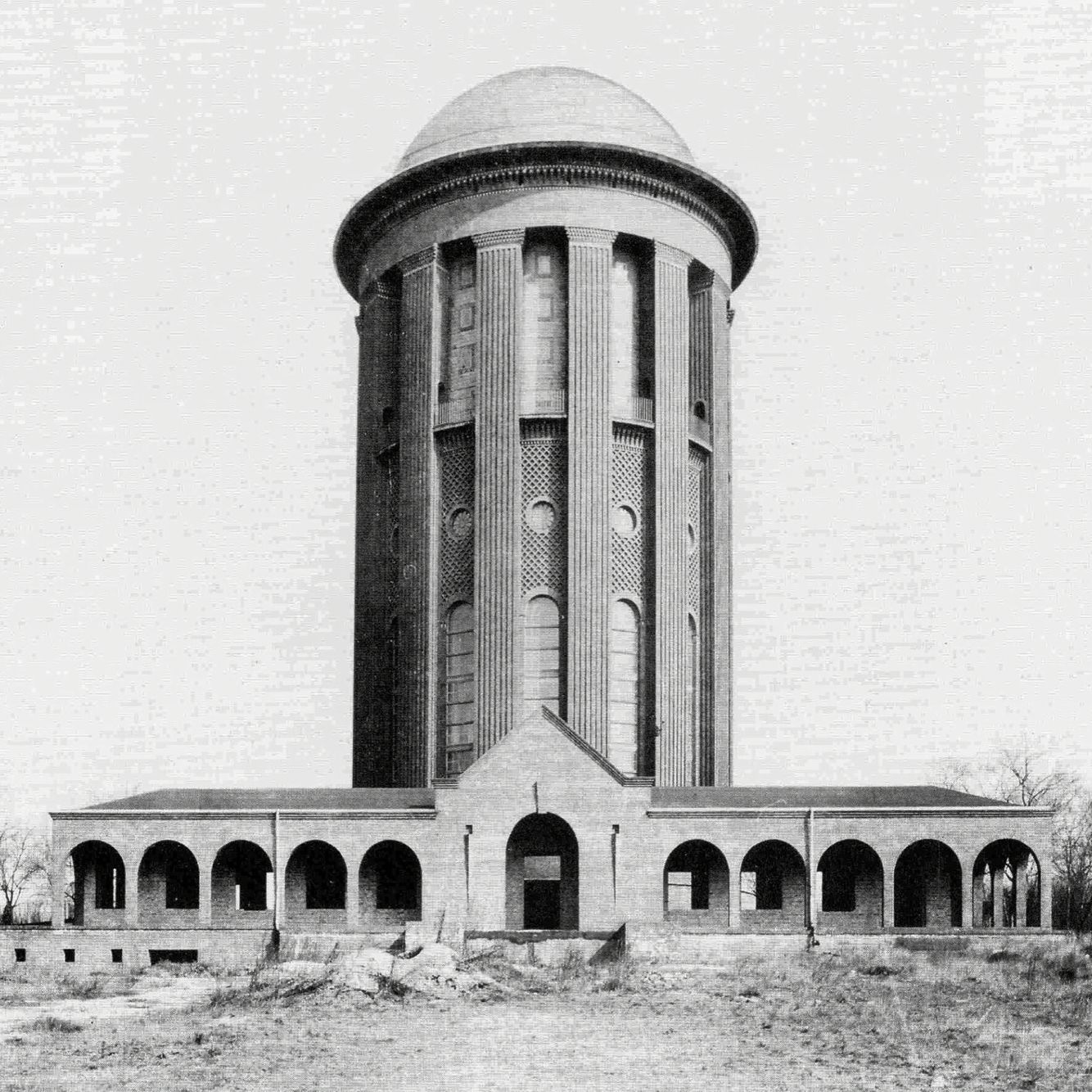 Water tower steglitz berlin hans heinrich müller 1915 19