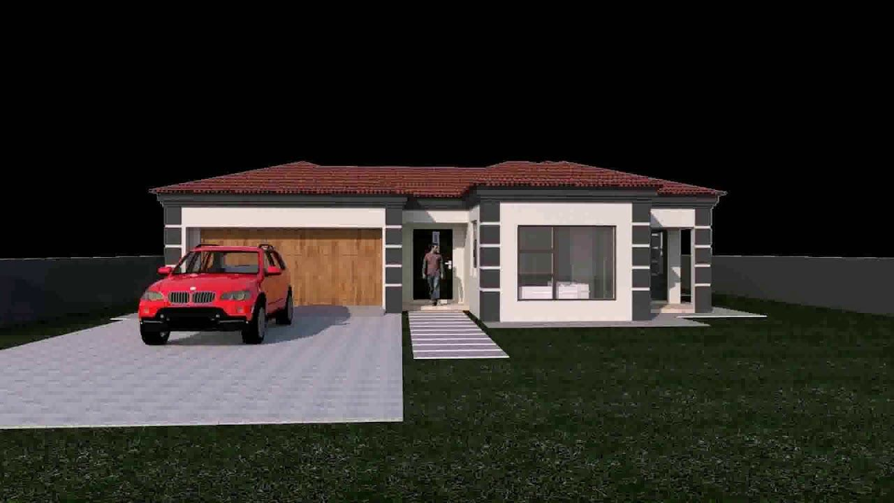 House Plans South Africa 2 Bedroomed With Garage In 2020 Beautiful House Plans House Plans South Africa Tuscan House Plans