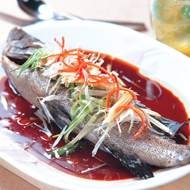 清蒸石斑魚::食譜