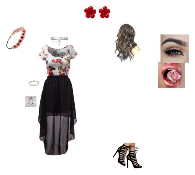 """""""Flower Chic"""" by isabelleheartlover ❤ liked on Polyvore featuring Forever 21, Chanel, Wet Seal and Behance"""