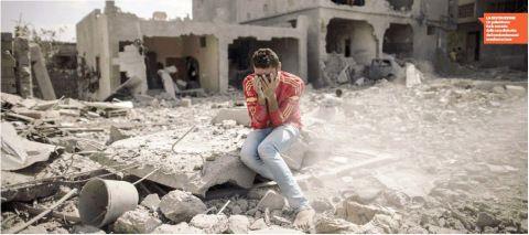 Informazione Contro!: A Gaza già mille morti Hamas rompe la tregua ma Is...