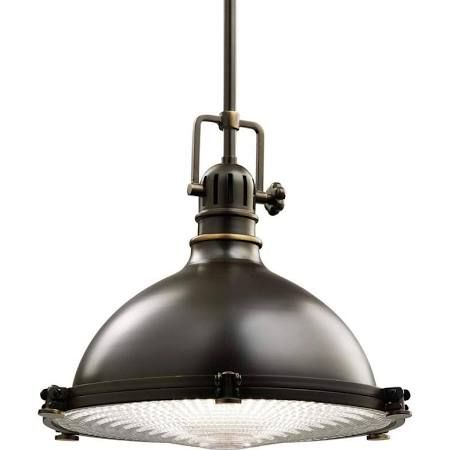 Kichler 2666 hatteras bay pendant light with metal shade 13 kichler 2666 hatteras bay pendant light with metal shade 13 wide olde bronze indoor mozeypictures Choice Image