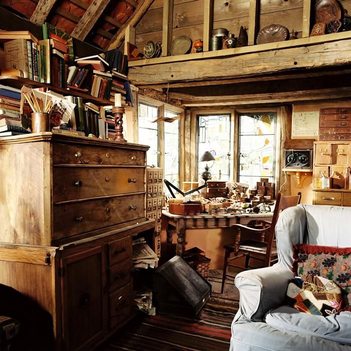 The Burrow Far End Of The Living Area Harry Potter Aesthetic