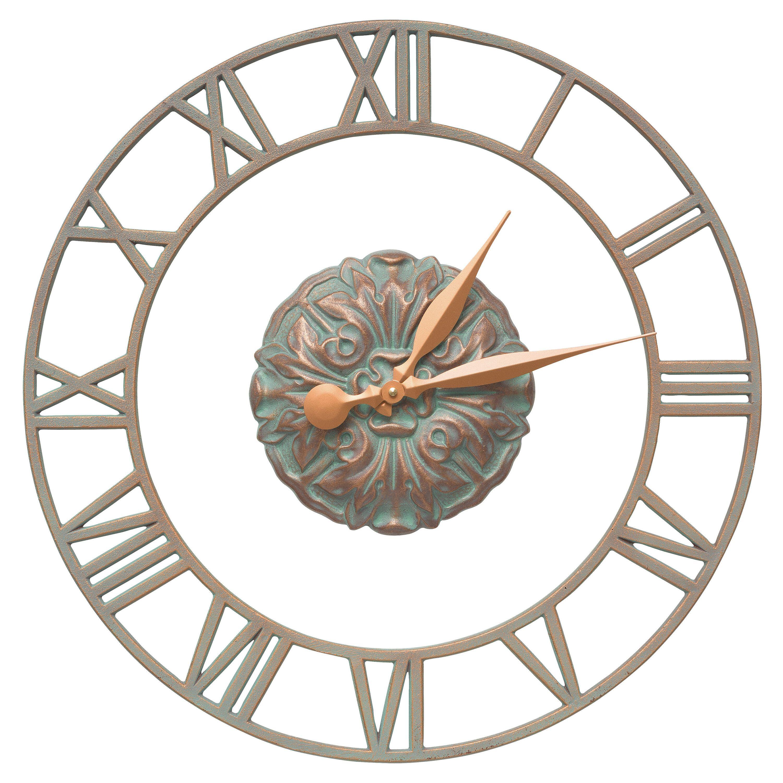 Cambridge Floating Ring Indoor/Outdoor Wall Clock | Indoor / Outdoor ...
