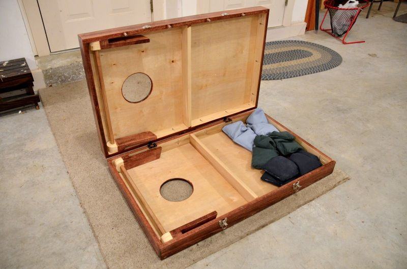 Great Hinged Cornhole Boards With Latches | Cornhole | Pinterest | Cornhole, Board  And Gaming
