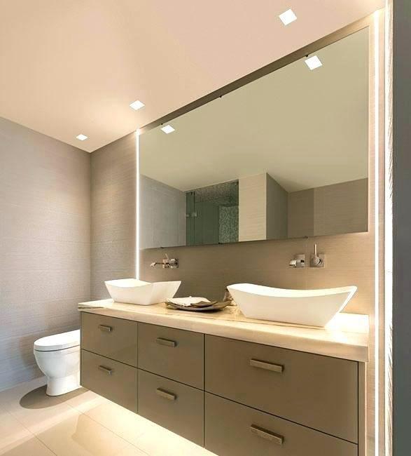 Small Bathroom Recessed Lighting Ideas