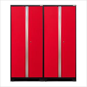 2 x PRO 3.0 Series Red Multi-Use Lockers