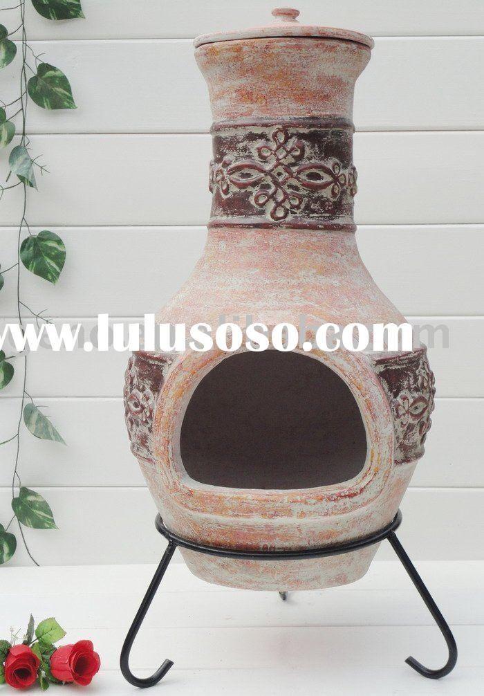 Clay Outdoor Chiminea Japanese Decor Chiminea Garden Decor
