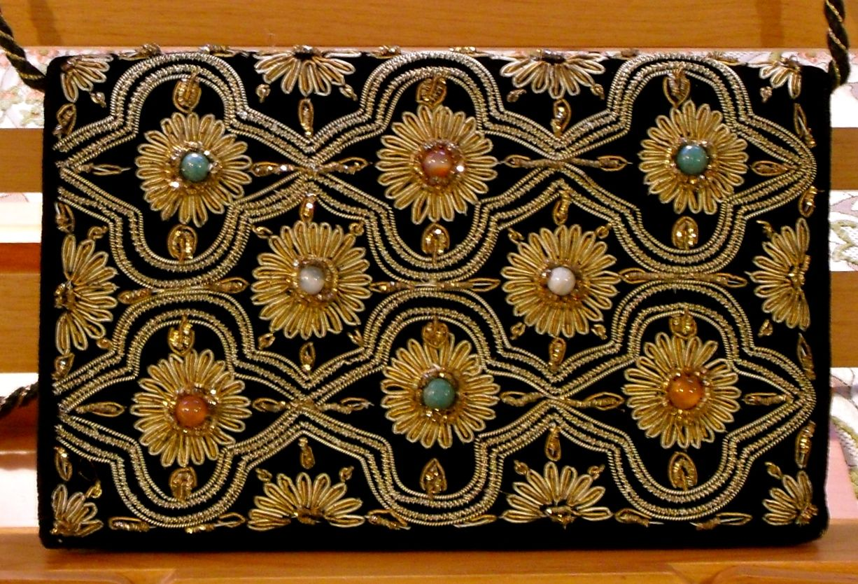 Embroidered Evening Handbag ~ India Circa 1930