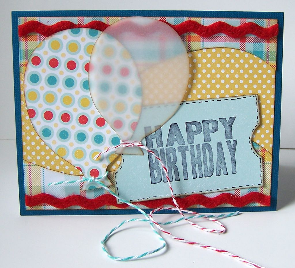 Happybirthdayl scrap pinterest homemade cards