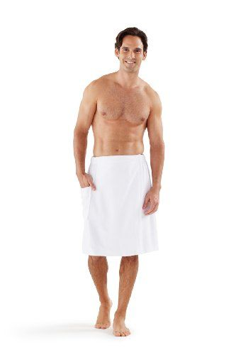 TOPSELLER! Boca Terry Men`s Spa Wrap - 100% Comb... $25.00
