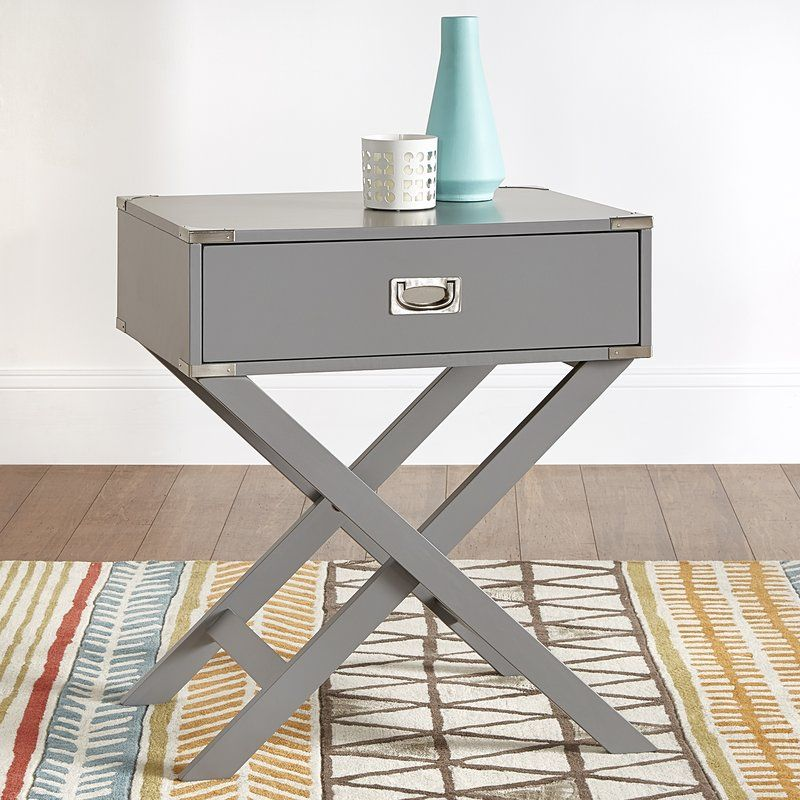 Best Marotta 1 Drawer Nightstand Diy End Tables End Tables 400 x 300