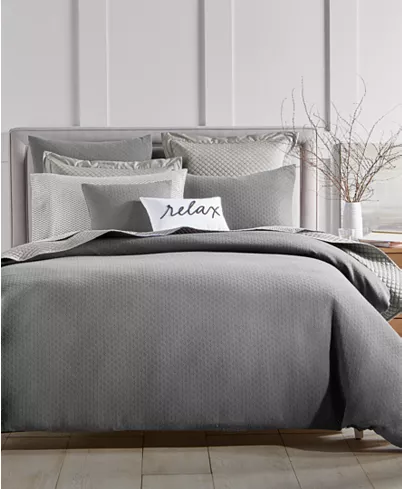 Photo of Charter Club Diamond Dot Bedding Collection, Created for Macy's & Reviews – Bedding Collections – Bed & Bath – Macy's