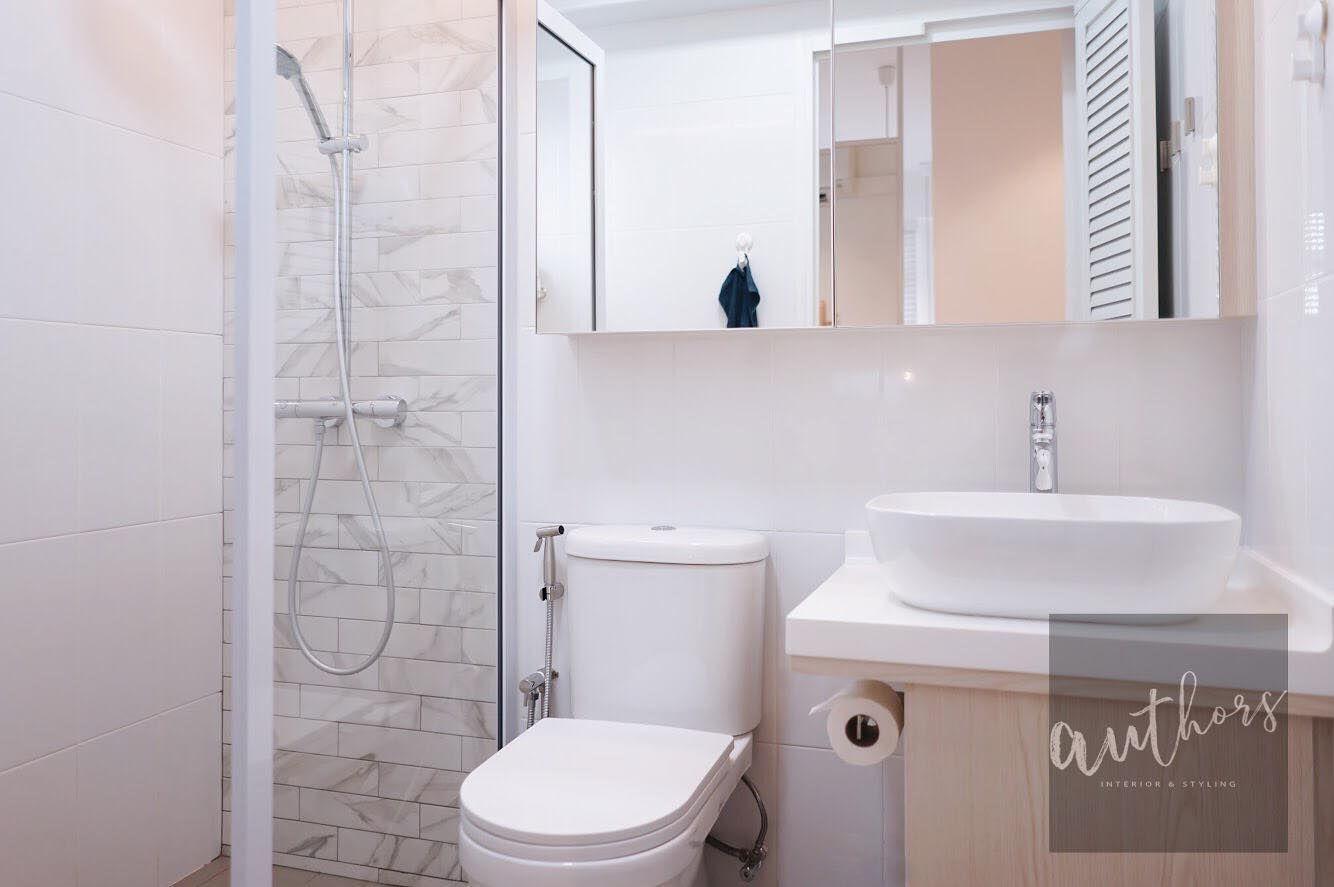 Bathroom vanity space saver mirror cabinet Authors Interior
