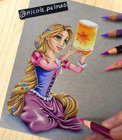 Rapunzel by Nicola Palmas
