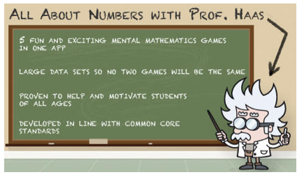 to All About Numbers with Prof Haas. This is part