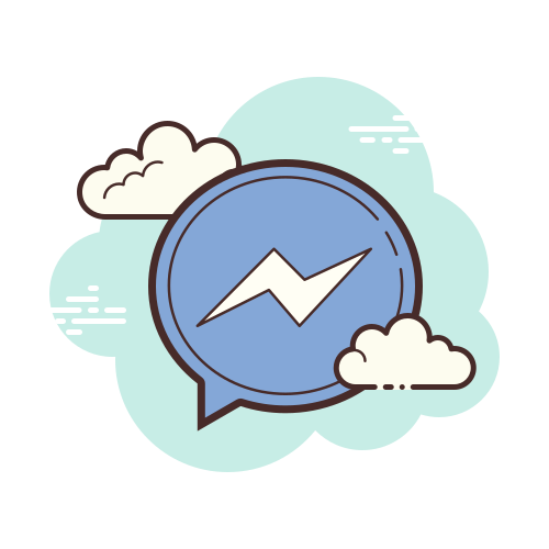 Facebook Messenger Icon – Free Download, PNG and V